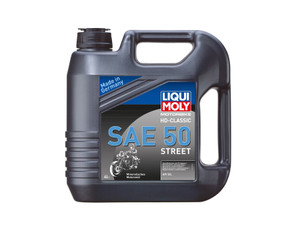 LIQUIMOLY OIL 4 STROKE - MINERAL - HD-CLASSIC SAE 50 STREET 4L 1230