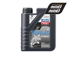 LIQUIMOLY OIL 4 STROKE - SEMI SYNTH - STREET - 10W-40 4L 1243