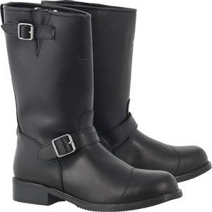 Oxford Cruiser Leather Motorcycle Waterproof Boots
