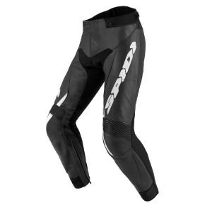 SPIDI Teker 2 CE Approved Leather trouser Black White
