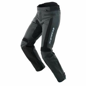 SPIDI Teker Short Pants Leather Trouser Black