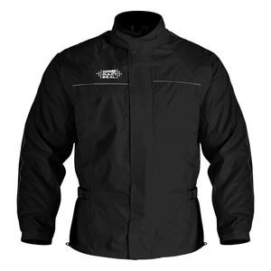 New Motorcycle Water Resistant Lightweight Over Jacket Black