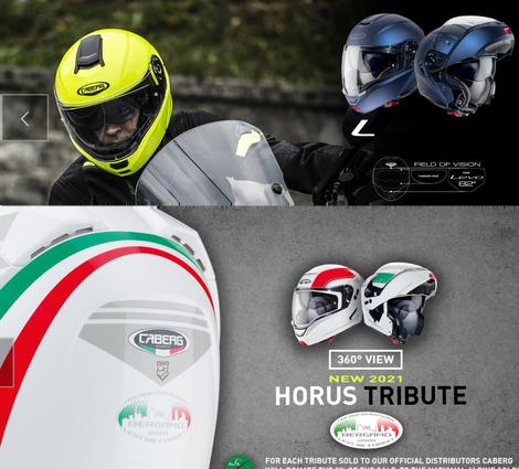 Buy your favourite Caberg Helmet