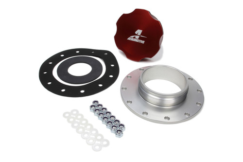 Billet Fuel Cell Cap Kit 12-Bolt Style