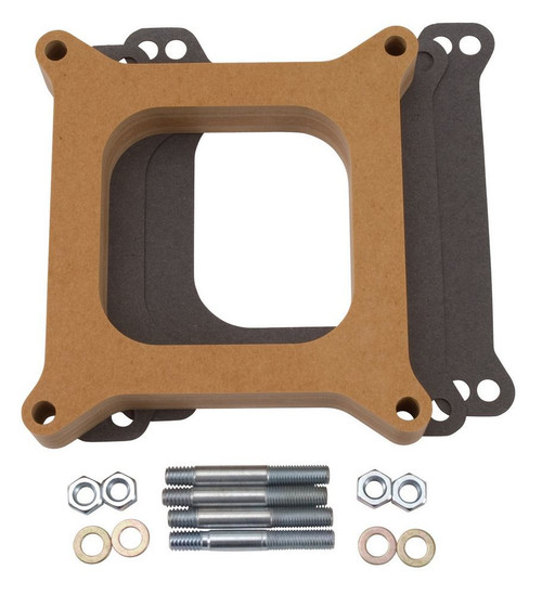 Carburetor Spacer - 1in Thick - Wood