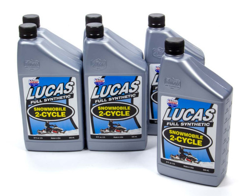 2 Cycle Snowmobile Oil Synthetic Case 6x1 Qt.