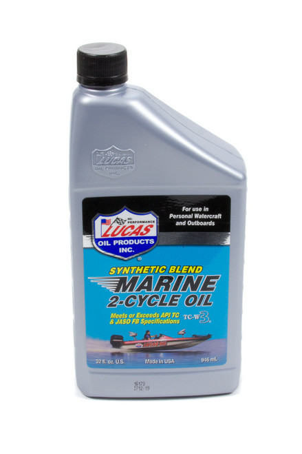 Marine Oil 2 Cycle 1 Qt. Synthetic Blend