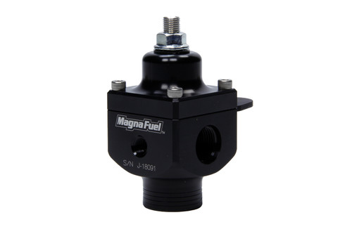 Large 2-Port Regulator - # 8 Outlets - Black