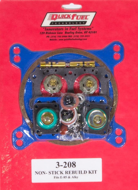 E85 Carb Rebuild Kit 650/750/850/950FCM