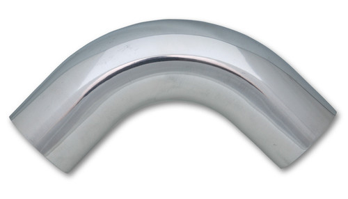 2.75In O.D. Aluminum 90 Degree Bend - Polished