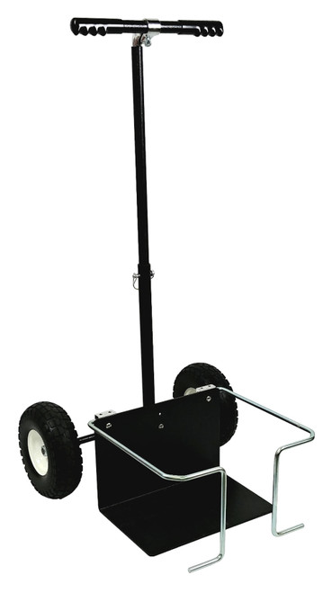 Cart Fuel Jug 1 - 15Gal w/ Telescoping Handle
