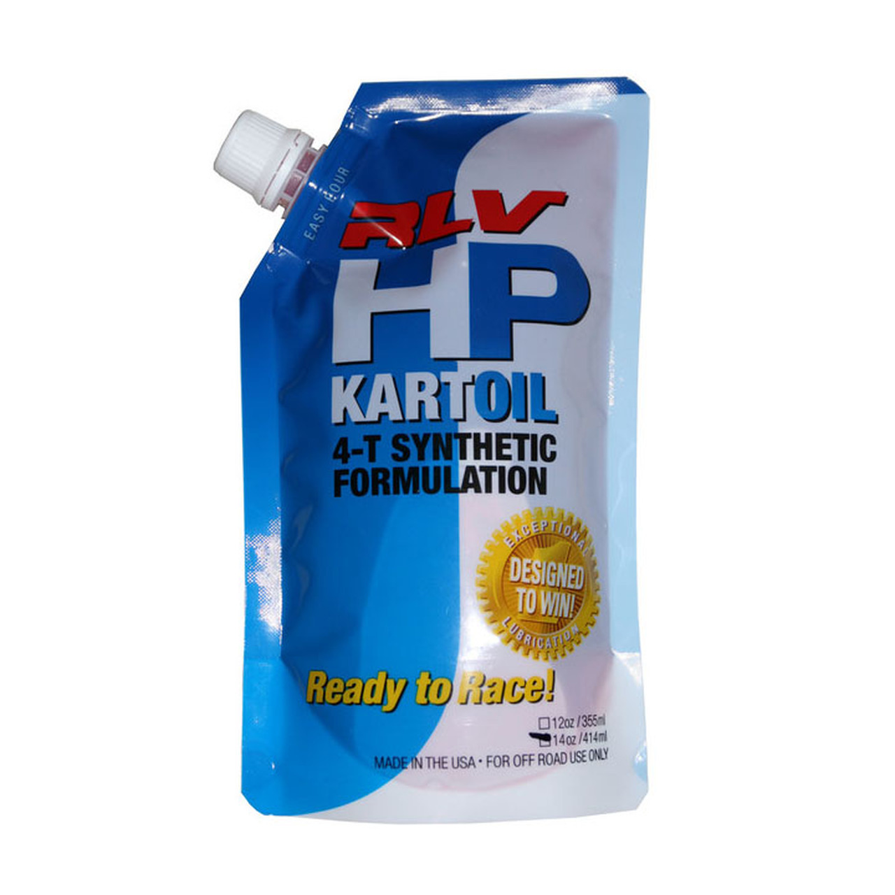 HP Kart Oil, 4-T Synthetic Formulation