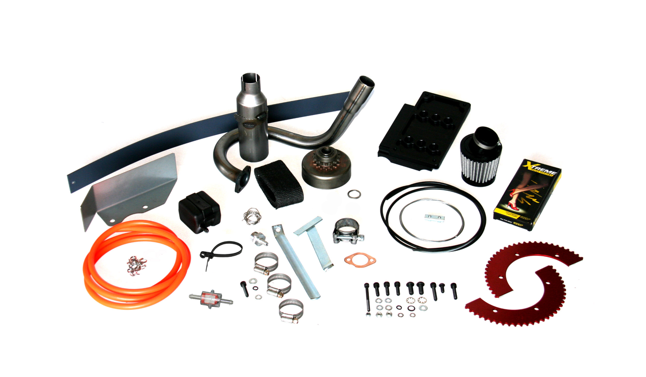 VLR Sapphire Cadet Kart Chassis (w/ LO206 Engine & Max Torque #35 Complete Kit