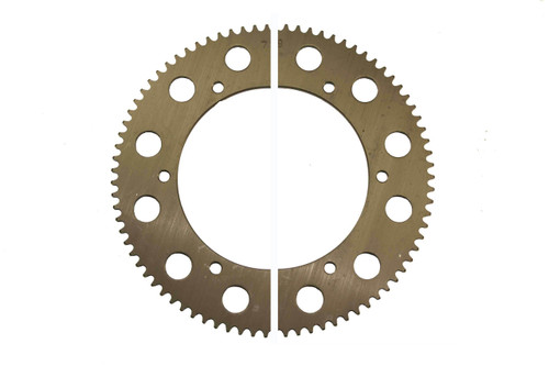 #219 Gun Metal Axle Sprockets