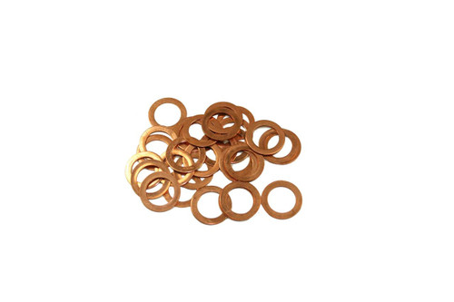 P/N EBL0401: Copper Spark Plug Washer Set for Flathead