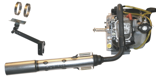 *ENGINE AND BLACK BRIGGS HEADER NOT INCLUDED IN COMPLETE PIPE KIT