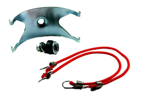 P/N AIR9715: Intake Silencer/Airbox Cradle Assembly