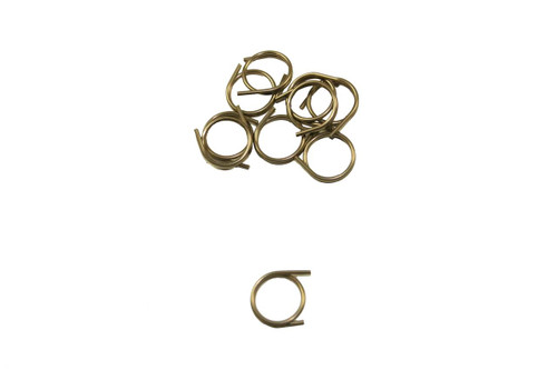 P/N FAS0100: Spring Clip Retainer, Round