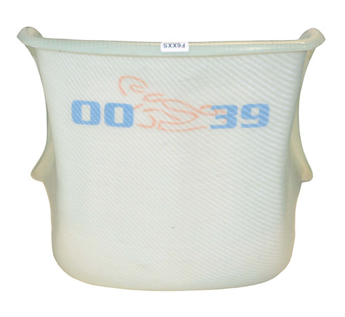 0039 Seat, F6 Extra Soft, Flat Bottom, Clear