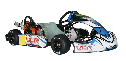 Sample of the Graphic Package assembled on the kart