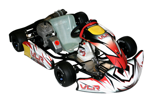 Sample of Graphic Package Assembled on the kart