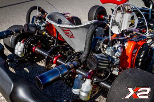 P/N EXF5560: RLV LO206/Animal Dual Kart Pipe