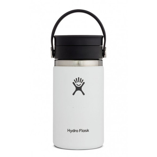 Hydro Flask 12 oz COFFEE WITH FLEX SIP LID- WHITE
