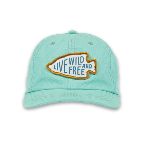 Youth Live Wild & Free Hat
