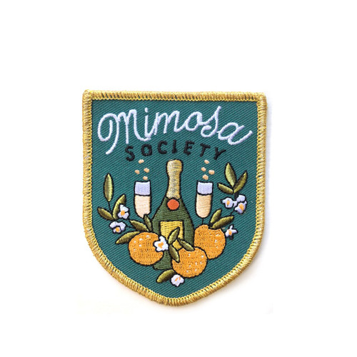Mimosa Society Iron on Patch