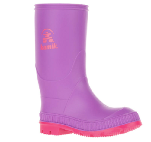Stomp Rain Boots- Purple