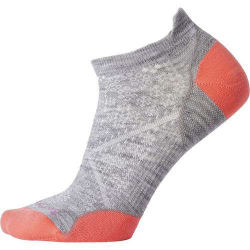 PhD Run Ultra Light Micro Running Sock- Light Grey