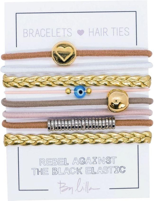 Goddess Bracelet/ Hair Tie Stack