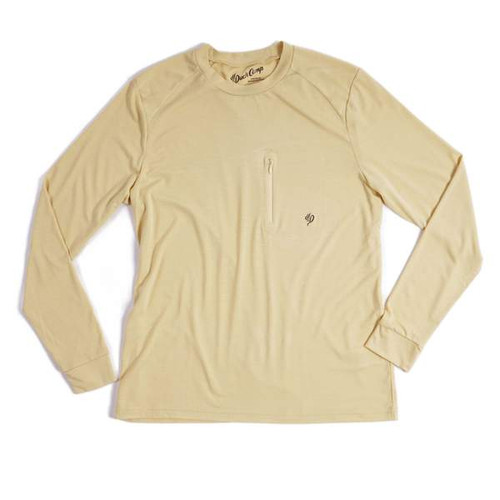 Lightweight Bamboo crew- Barley Yellow