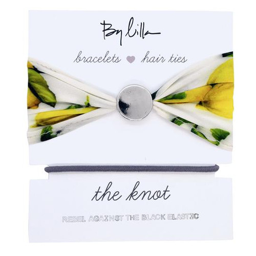 The Knot Hair Tie Set- Lemon Tree