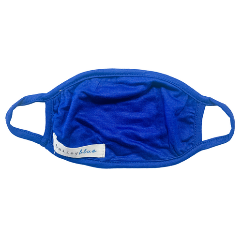 Child Jersey Knit Mask- Royal Blue