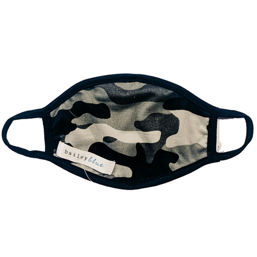 Child Jersey Knit Mask- Camo