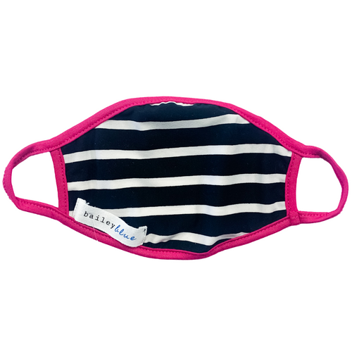 Child Jersey Knit Mask- Stripe