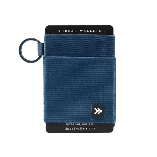 Elastic Wallet- Midnight Blue