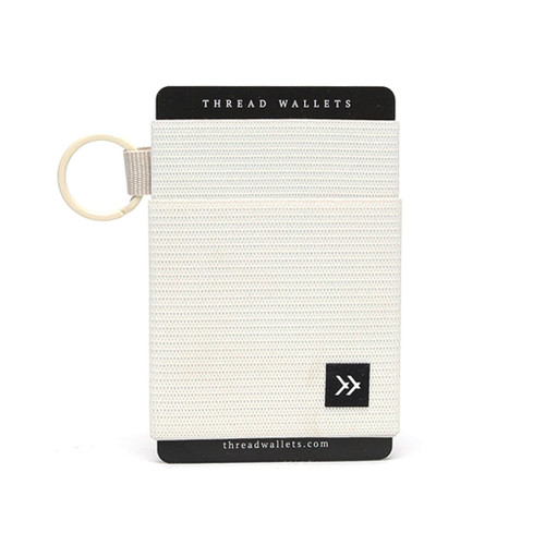 Elastic Wallet- Off White