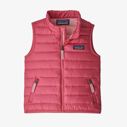 Patagonia Girls Baby Down Sweater Vest- Range Pink