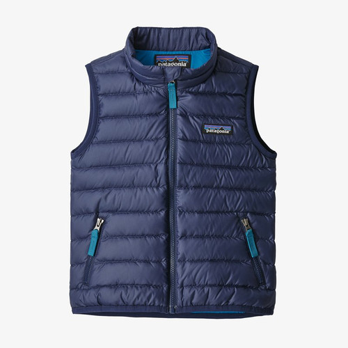Patagonia Baby Down Sweater Vest- Classic Navy