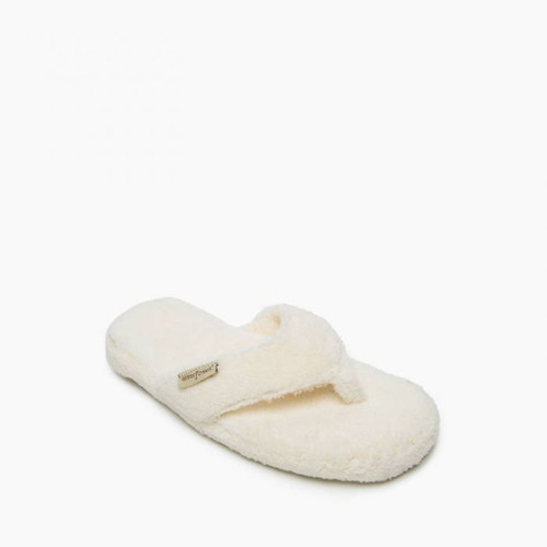 Minnetonka Olivia Slipper- Cream