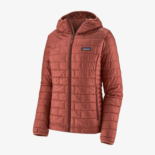Patagonia Nano Puff Hoody- Spanish Red