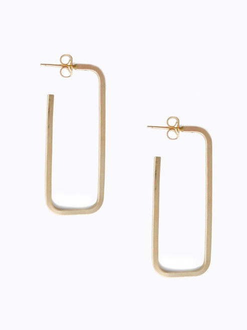 Live Fashionable- Bali Hoop Earrings- Gold