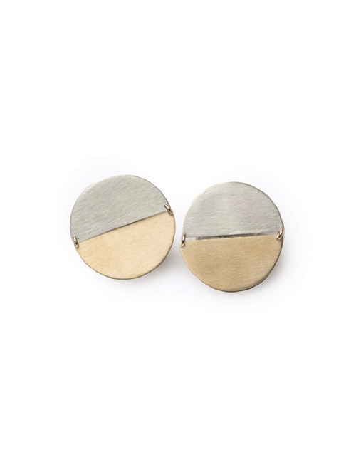 Able Contempo Earrings- Gold/ Silver