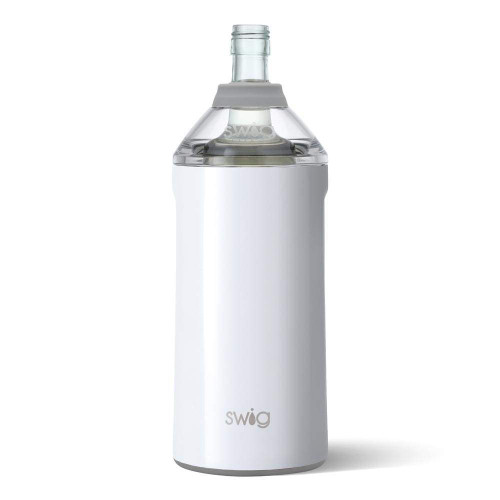 Swig Wine Insulator Cooler Diamond White