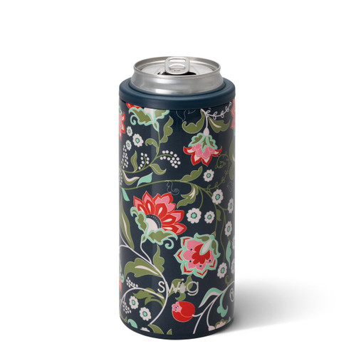 12oz Skinny Can Cooler- Lotus