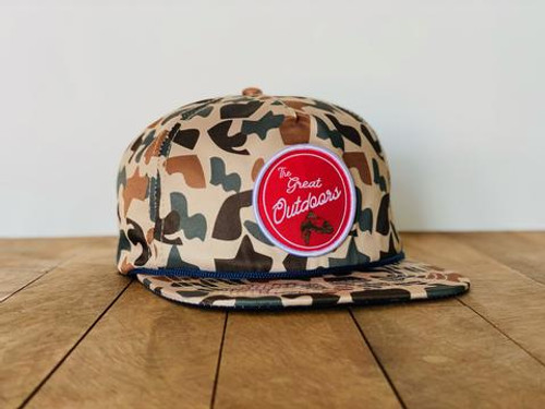 Staunch The Great Outdoors Cap- Camo