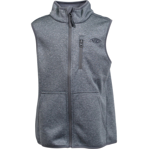 Aftco Vista Vest- Gray Heather