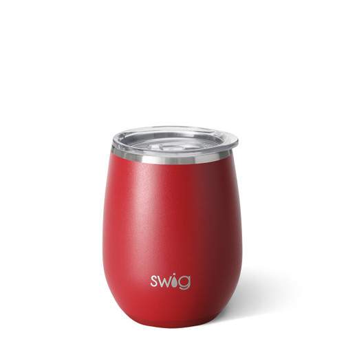 Stemless Wine Cup- Matte Crimson